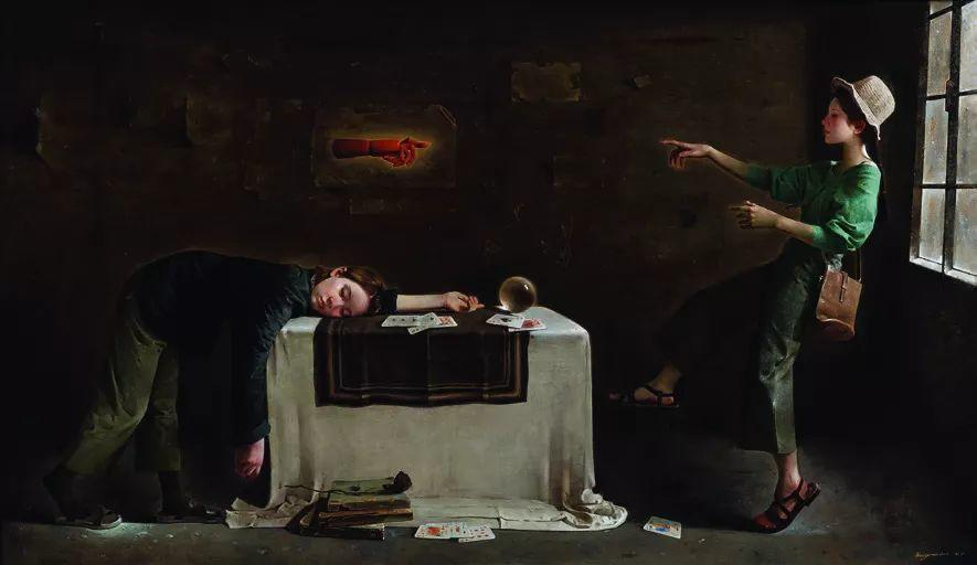 第十三届全国美展油画作品展全集595幅 (上)插图193