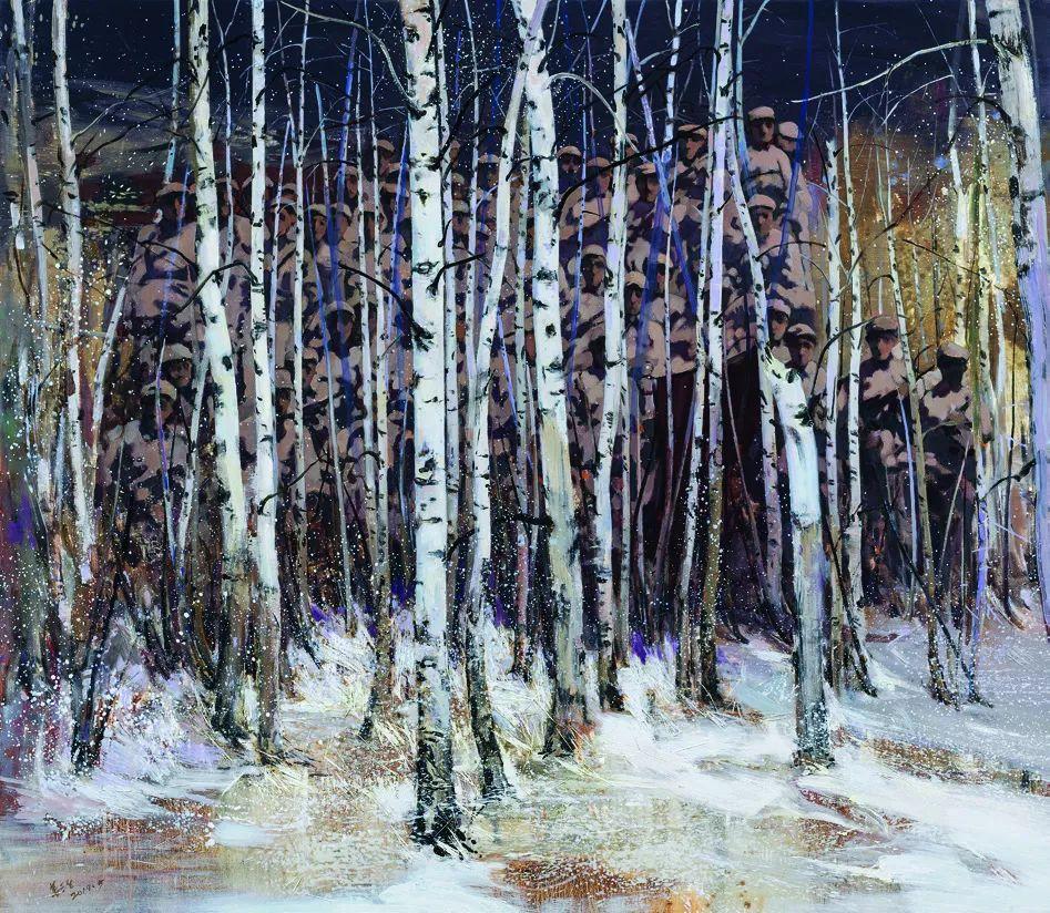 第十三届全国美展油画作品展全集595幅 (上)插图197