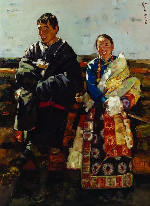 第十三届全国美展油画作品展全集595幅 (上)插图201