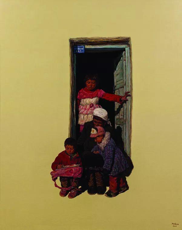 第十三届全国美展油画作品展全集595幅 (上)插图208