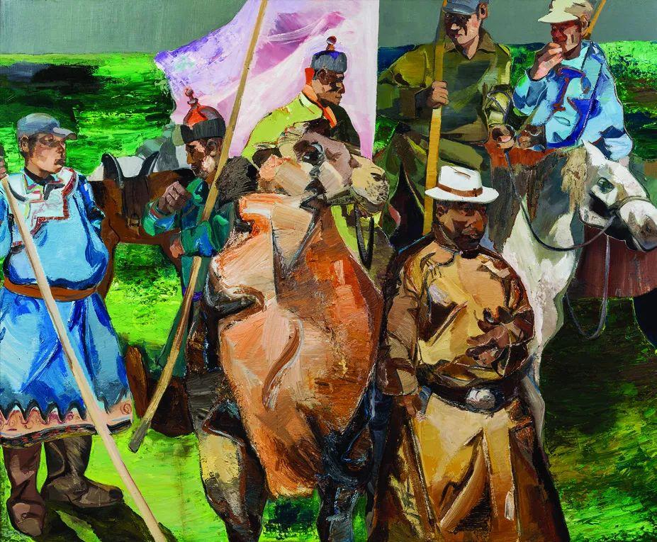 第十三届全国美展油画作品展全集595幅 (上)插图211