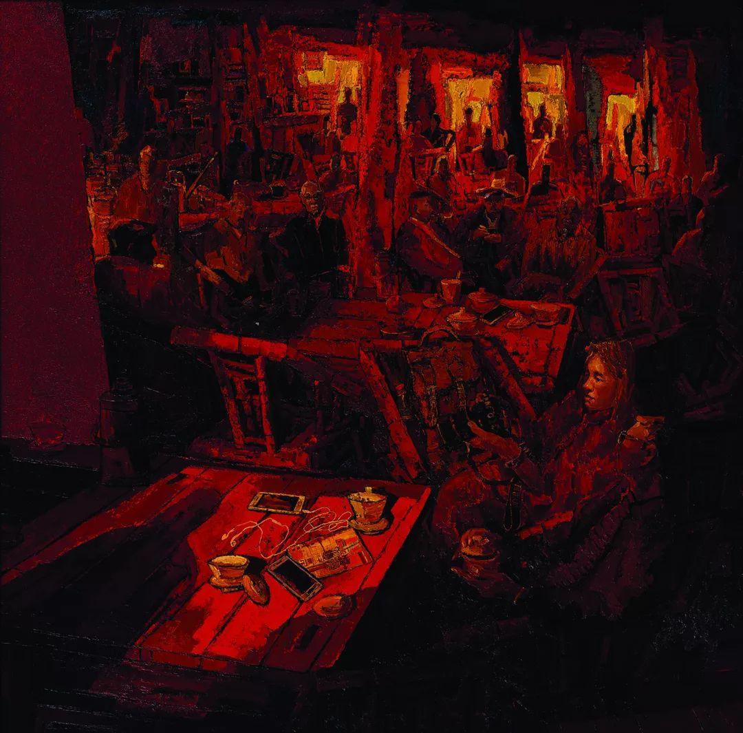 第十三届全国美展油画作品展全集595幅 (上)插图216