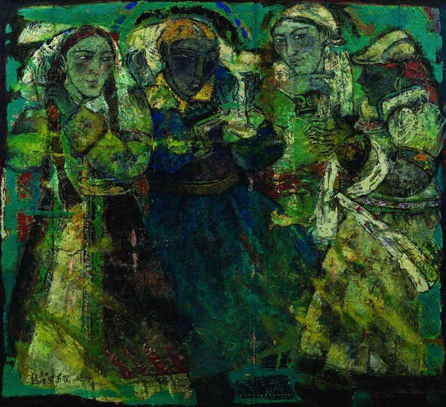 第十三届全国美展油画作品展全集595幅 (上)插图218