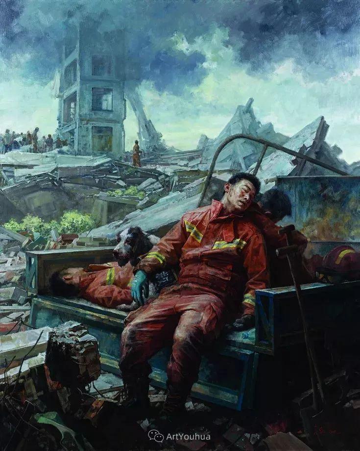 第十三届全国美展油画作品展全集595幅 (上)插图222
