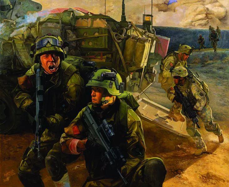 第十三届全国美展油画作品展全集595幅 (上)插图223