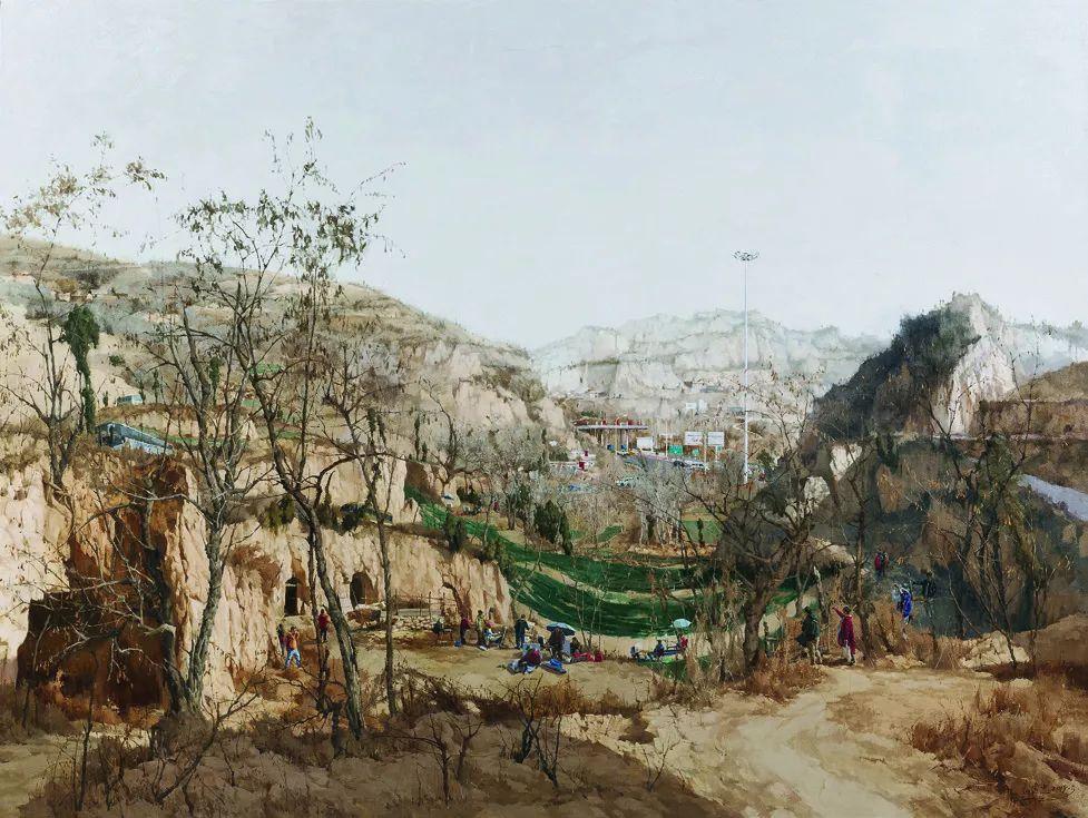 第十三届全国美展油画作品展全集595幅 (上)插图229