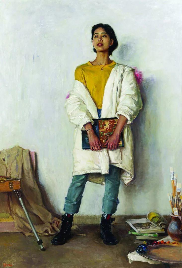 第十三届全国美展油画作品展全集595幅 (上)插图238