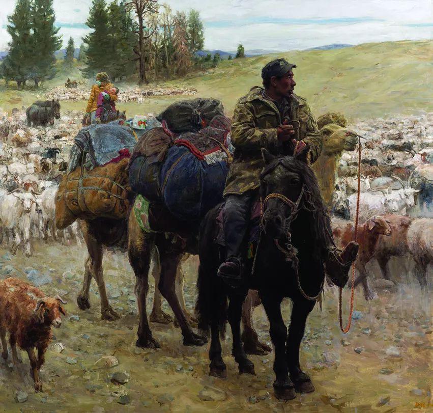 第十三届全国美展油画作品展全集595幅 (上)插图249