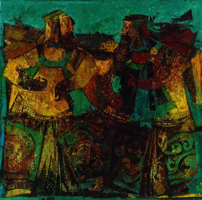 第十三届全国美展油画作品展全集595幅 (上)插图251