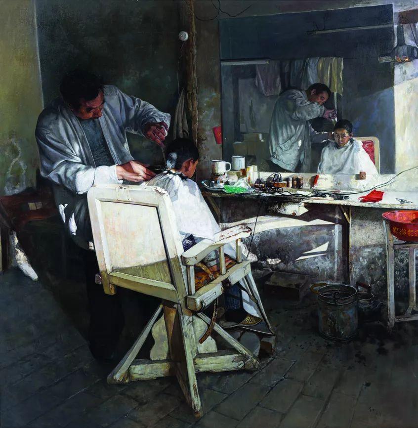 第十三届全国美展油画作品展全集595幅 (上)插图253