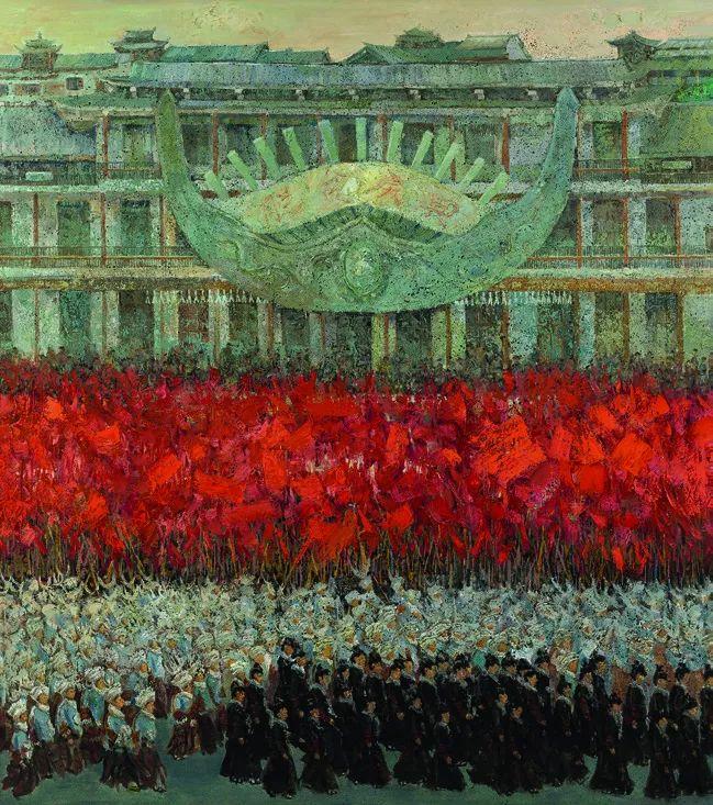 第十三届全国美展油画作品展全集595幅 (上)插图263
