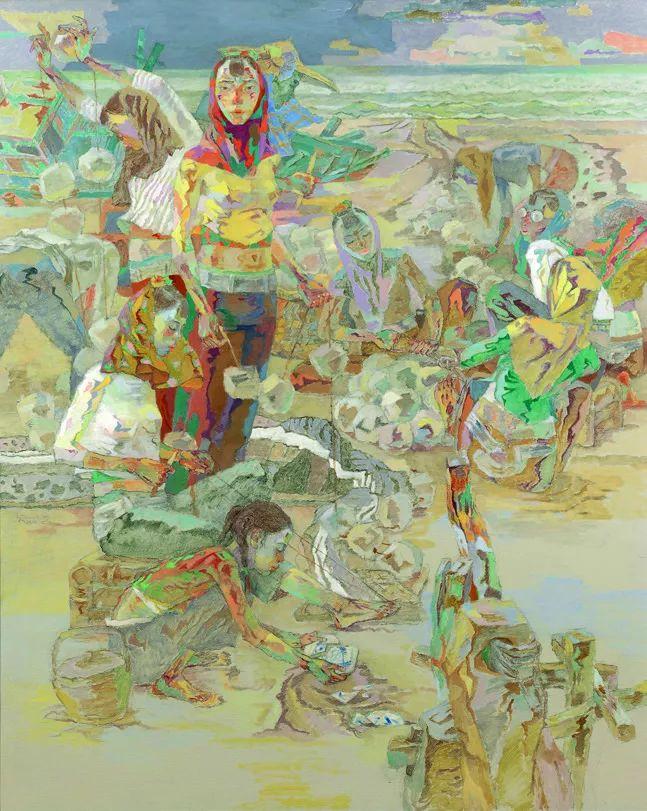 第十三届全国美展油画作品展全集595幅 (上)插图265