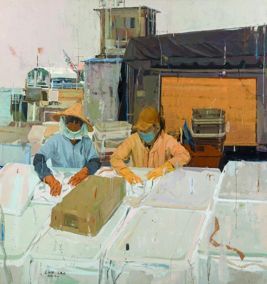 第十三届全国美展油画作品展全集595幅 (上)插图266