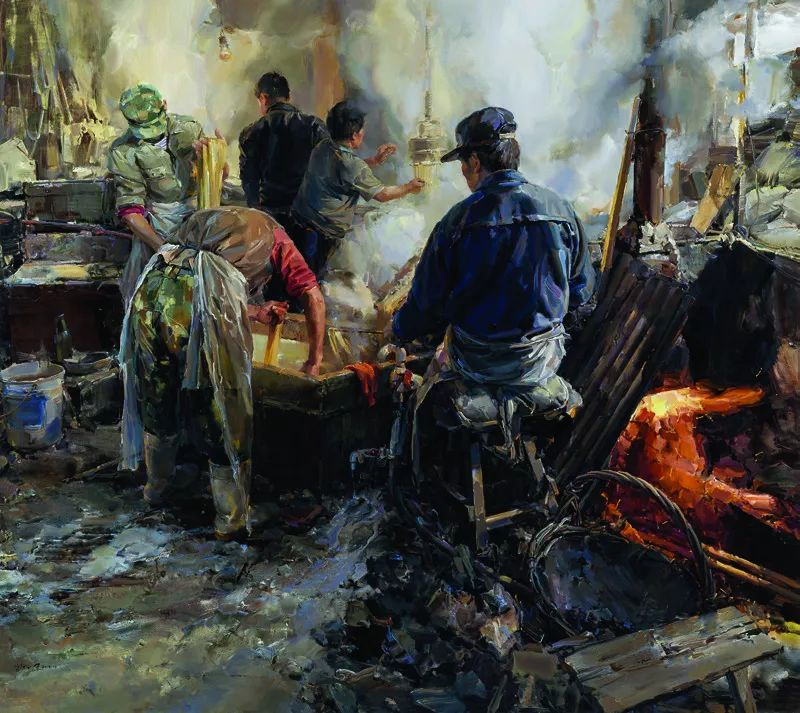 第十三届全国美展油画作品展全集595幅 (上)插图268