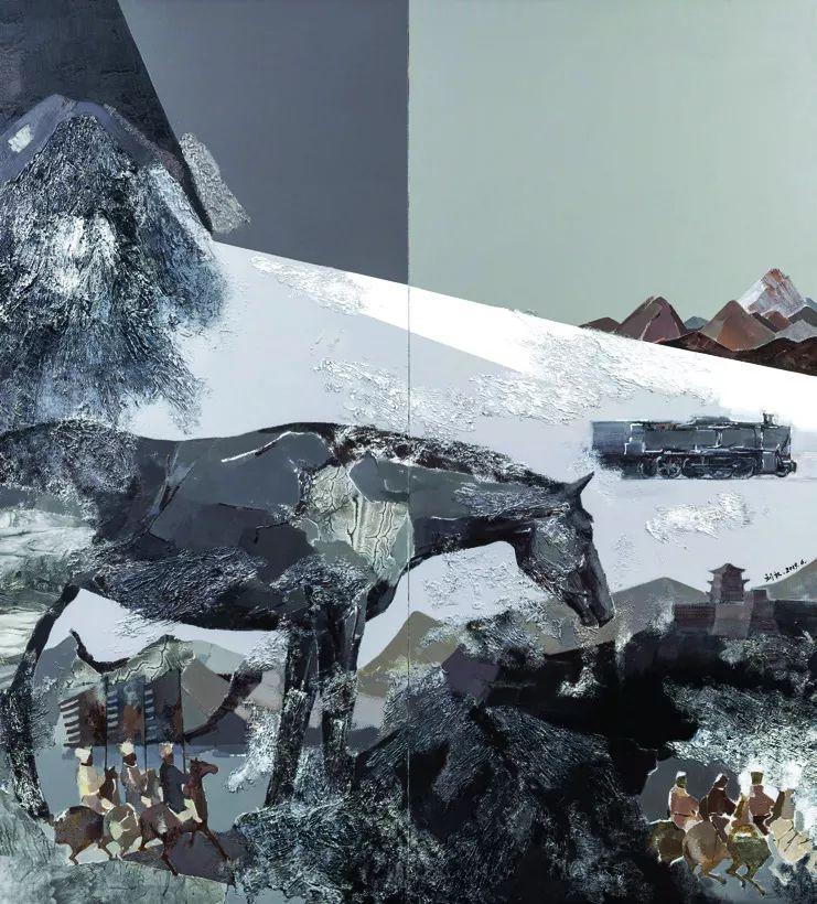 第十三届全国美展油画作品展全集595幅 (上)插图282