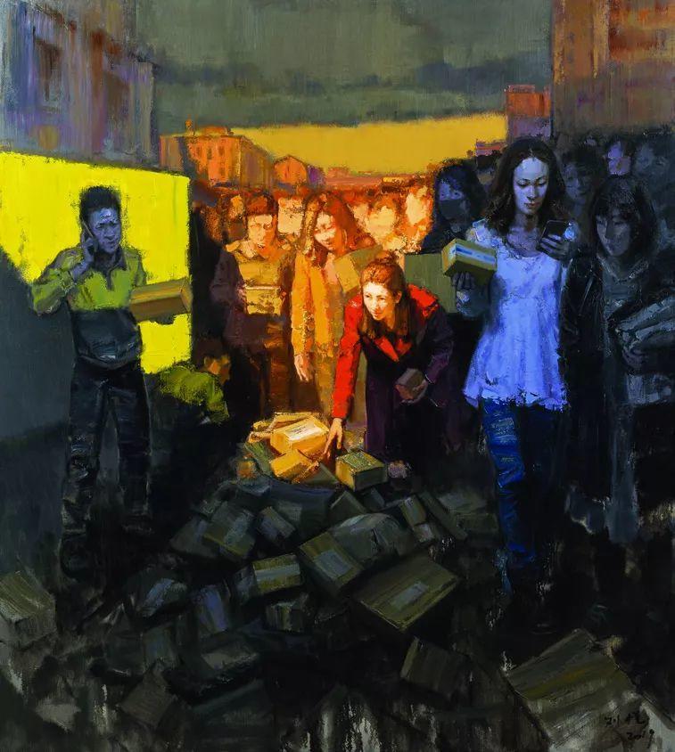 第十三届全国美展油画作品展全集595幅 (上)插图291
