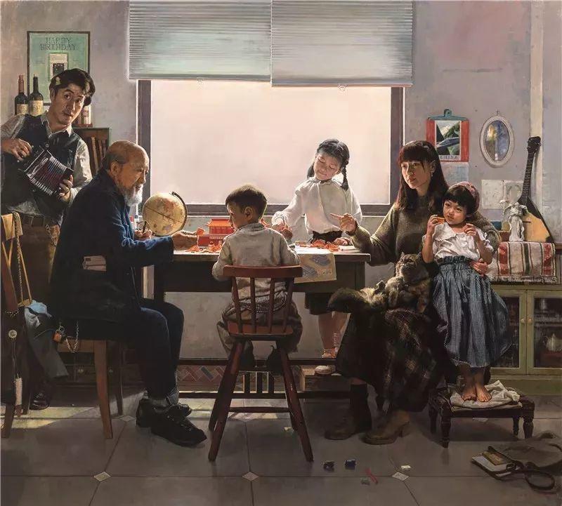 十三届全国美展,12件油画获奖提名作品插图10