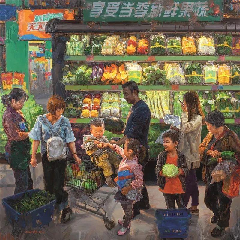 十三届全国美展,12件油画获奖提名作品插图14