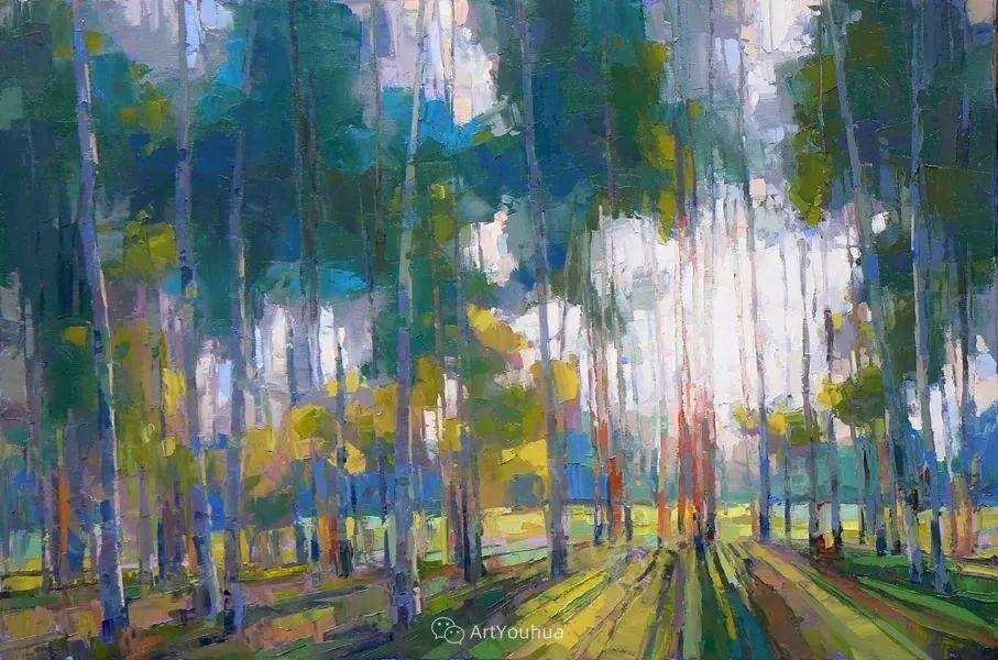 唯美至极的光与色,美国画家David Mensing插图1