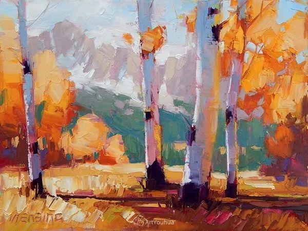 唯美至极的光与色,美国画家David Mensing插图9