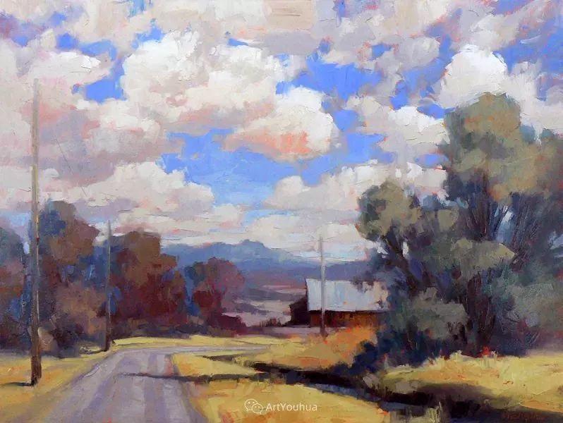 唯美至极的光与色,美国画家David Mensing插图11