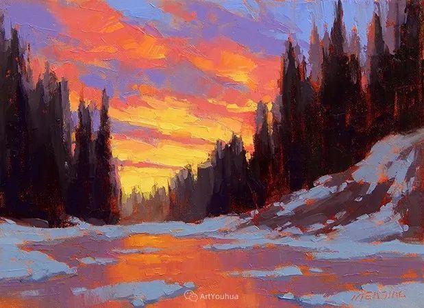 唯美至极的光与色,美国画家David Mensing插图17