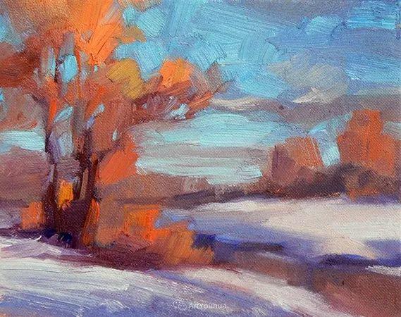 唯美至极的光与色,美国画家David Mensing插图19