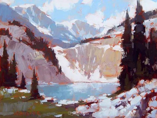 唯美至极的光与色,美国画家David Mensing插图25