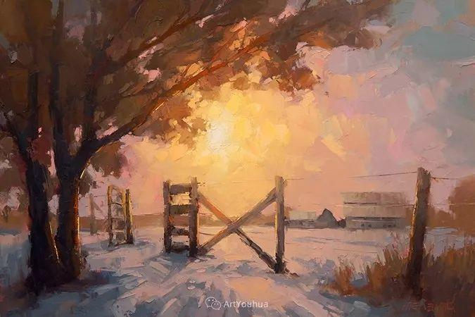 唯美至极的光与色,美国画家David Mensing插图29
