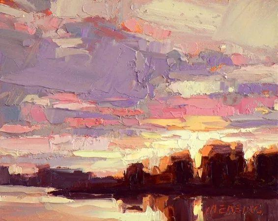 唯美至极的光与色,美国画家David Mensing插图31