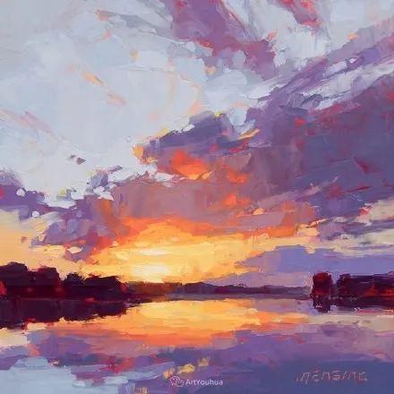 唯美至极的光与色,美国画家David Mensing插图35