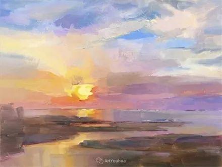 唯美至极的光与色,美国画家David Mensing插图47