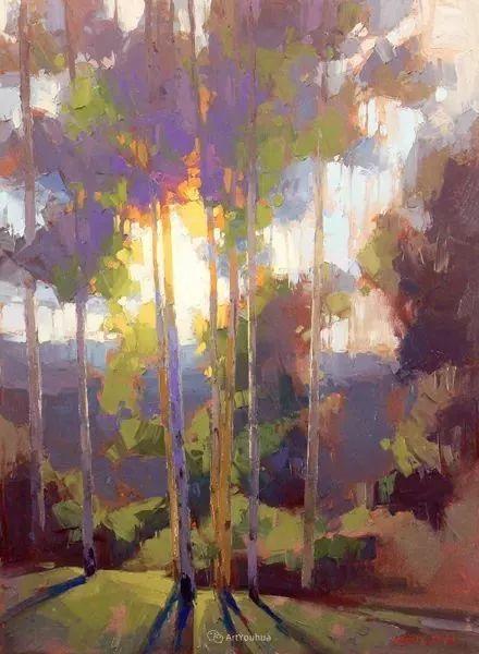 唯美至极的光与色,美国画家David Mensing插图55