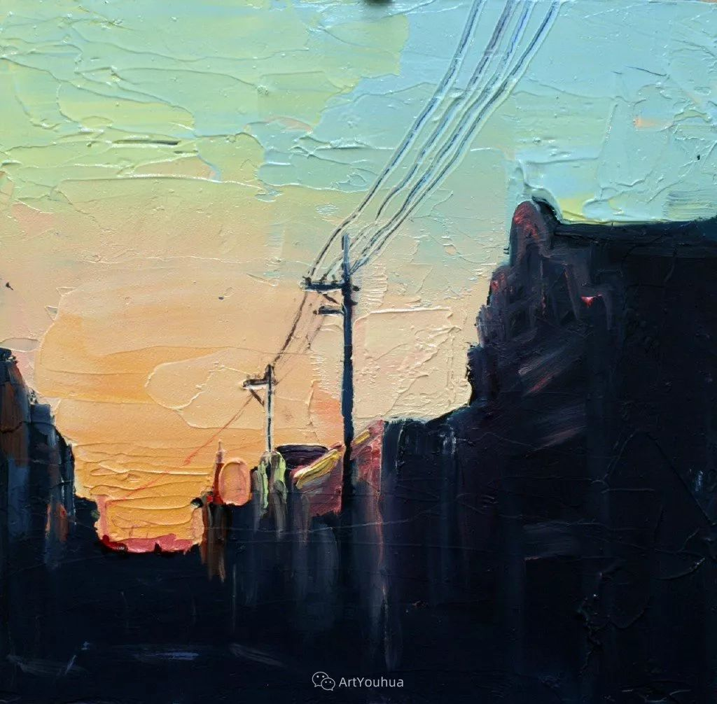日落余晖   澳大利亚画家Ashley Frost(上)插图37