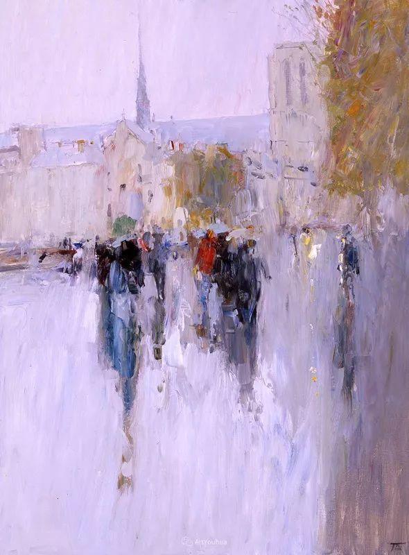 那一抹色彩 俄罗斯画家Peter Bezrukov作品(下)插图45