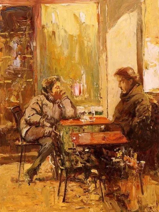 俄罗斯画家Peter Bezrukov作品(上)插图36