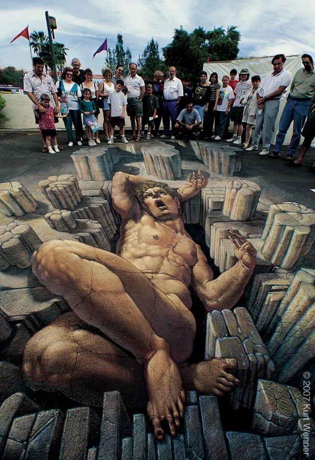 好玩又震撼,效果真实到你怀疑人生的3D街头艺术!插图17