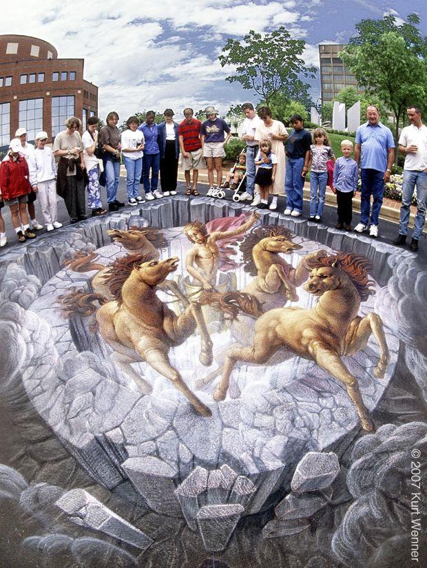 好玩又震撼,效果真实到你怀疑人生的3D街头艺术!插图19