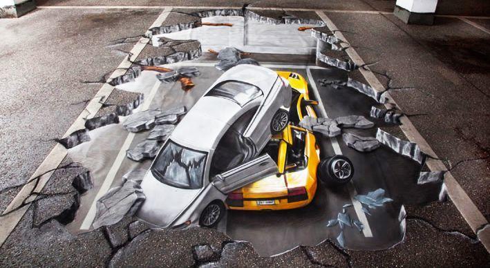 好玩又震撼,效果真实到你怀疑人生的3D街头艺术!插图29