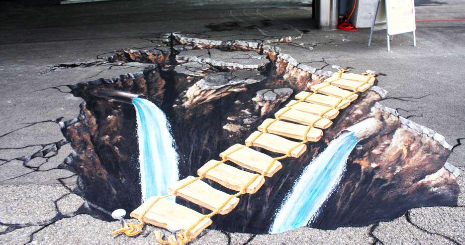 好玩又震撼,效果真实到你怀疑人生的3D街头艺术!插图31
