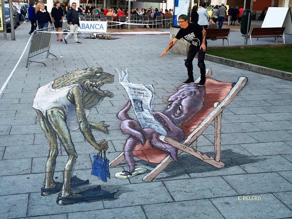 好玩又震撼,效果真实到你怀疑人生的3D街头艺术!插图39