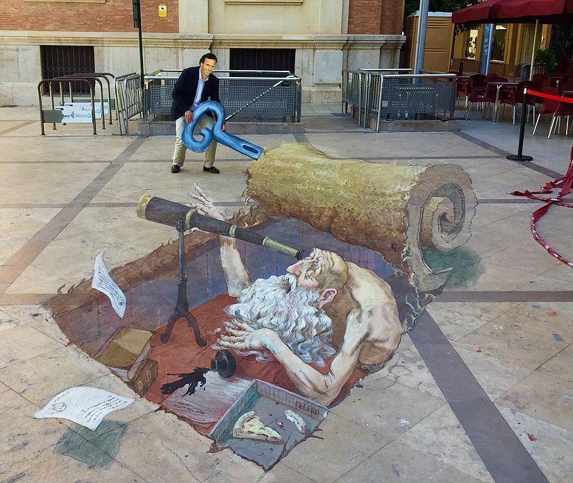 好玩又震撼,效果真实到你怀疑人生的3D街头艺术!插图43