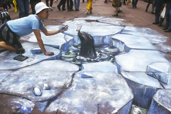 好玩又震撼,效果真实到你怀疑人生的3D街头艺术!插图54