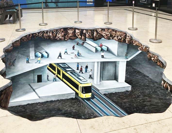 好玩又震撼,效果真实到你怀疑人生的3D街头艺术!插图56
