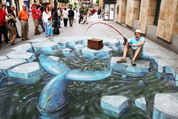 好玩又震撼,效果真实到你怀疑人生的3D街头艺术!插图59
