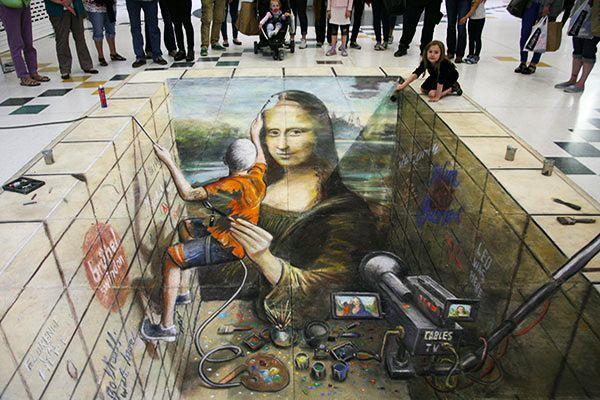 好玩又震撼,效果真实到你怀疑人生的3D街头艺术!插图62