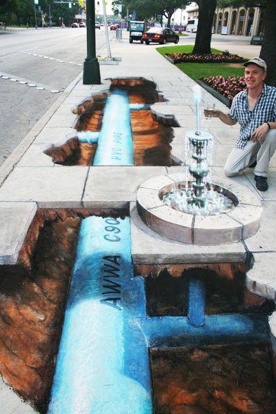好玩又震撼,效果真实到你怀疑人生的3D街头艺术!插图63