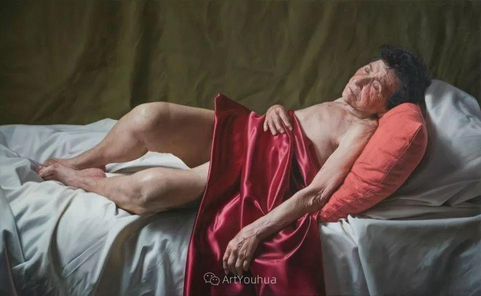 法国超写实人体油画,也很震撼!插图3