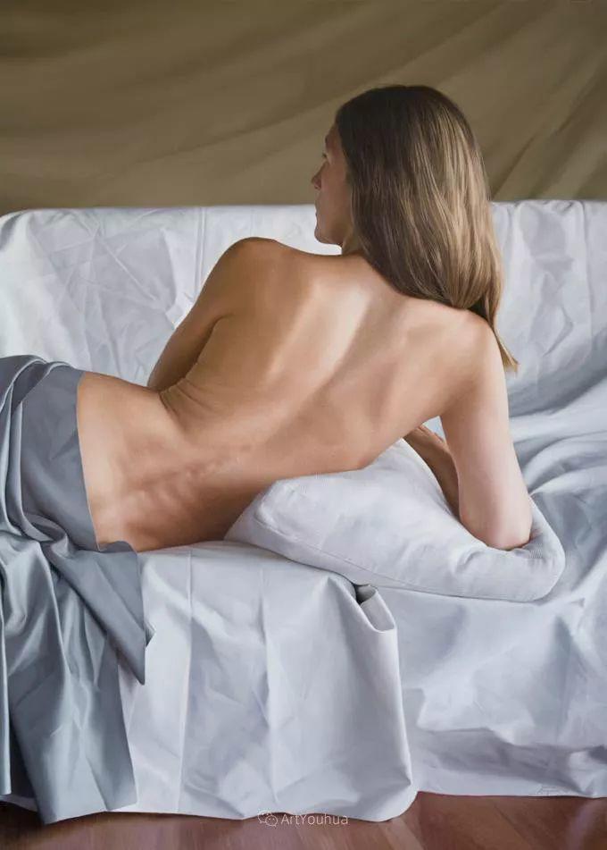 法国超写实人体油画,也很震撼!插图8