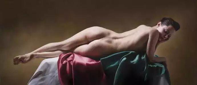 法国超写实人体油画,也很震撼!插图9